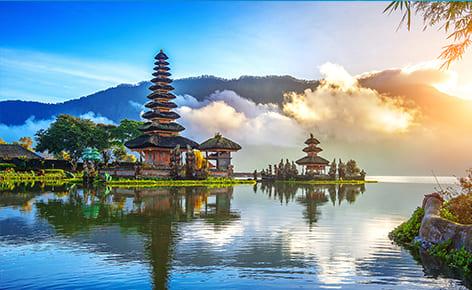 夢境般的度假天堂。峇里島